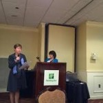 Judy Aubin addresses school nurses at MSNO 2017  Conference